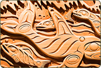 Wood Carvings in Sonora Resort